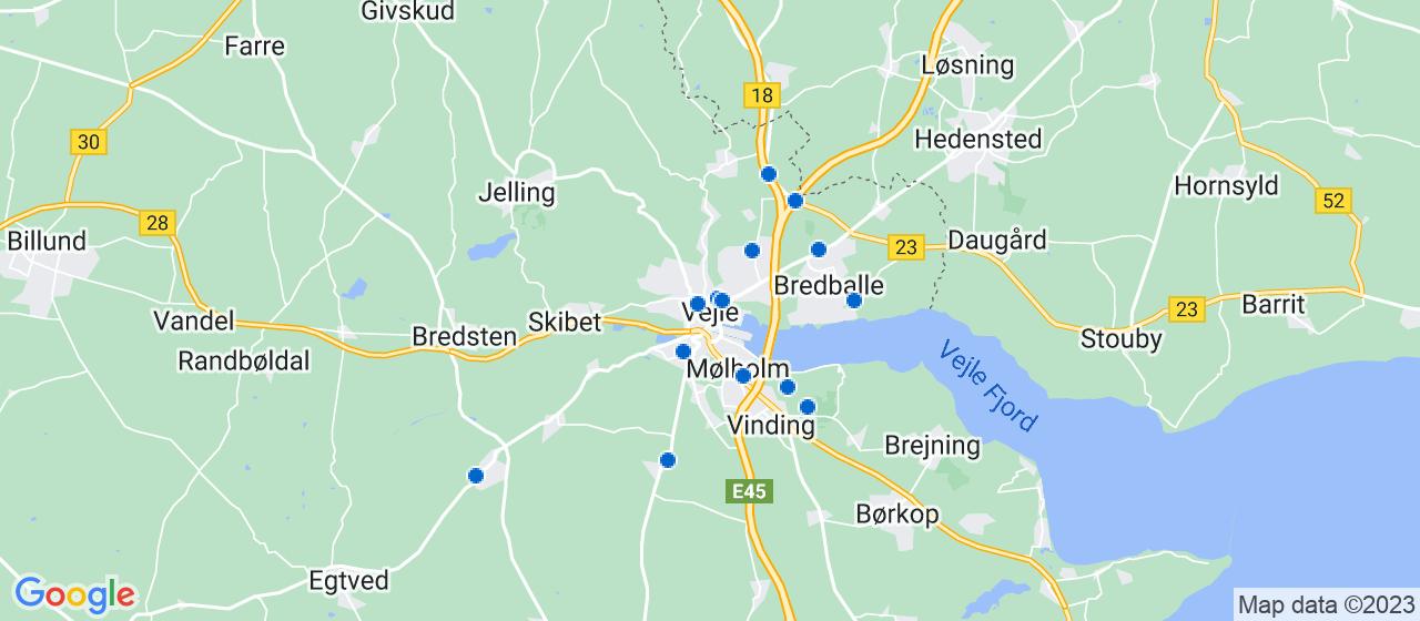 ejendomsservicefirmaer i Vejle