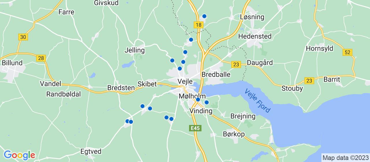 sandblæsning firmaer i Vejle