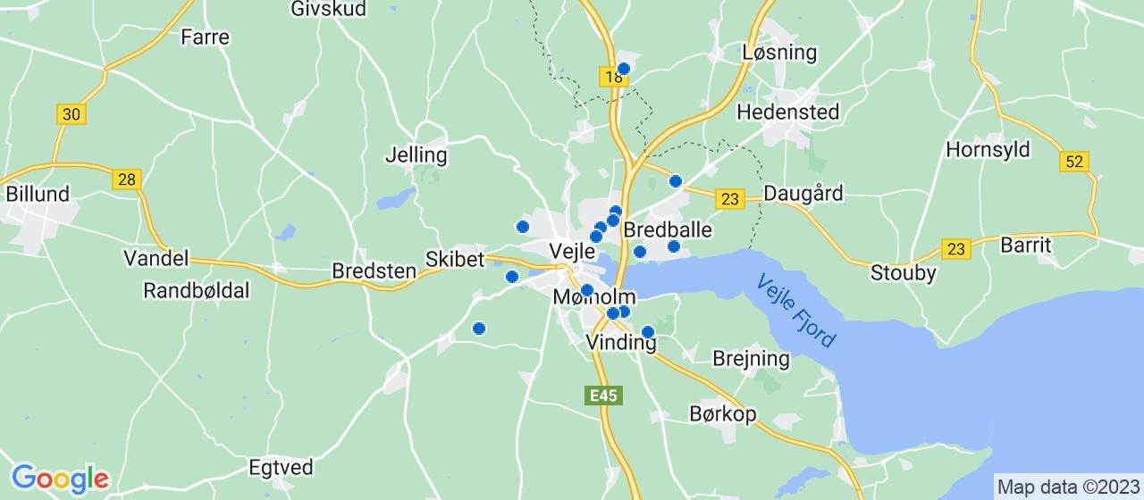 elektrikerfirmaer i Vejle