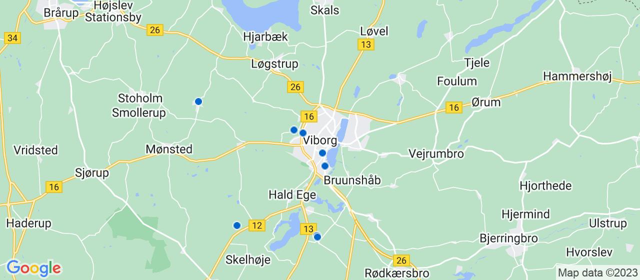 tagdækningsvirksomheder i Viborg