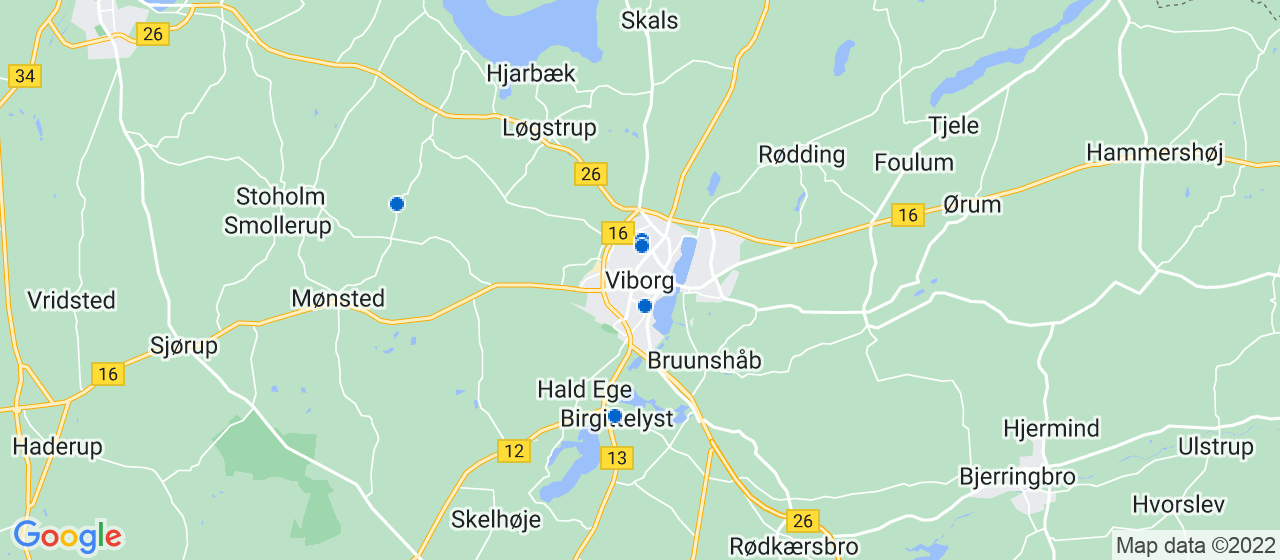 glarmesterfirmaer i Viborg