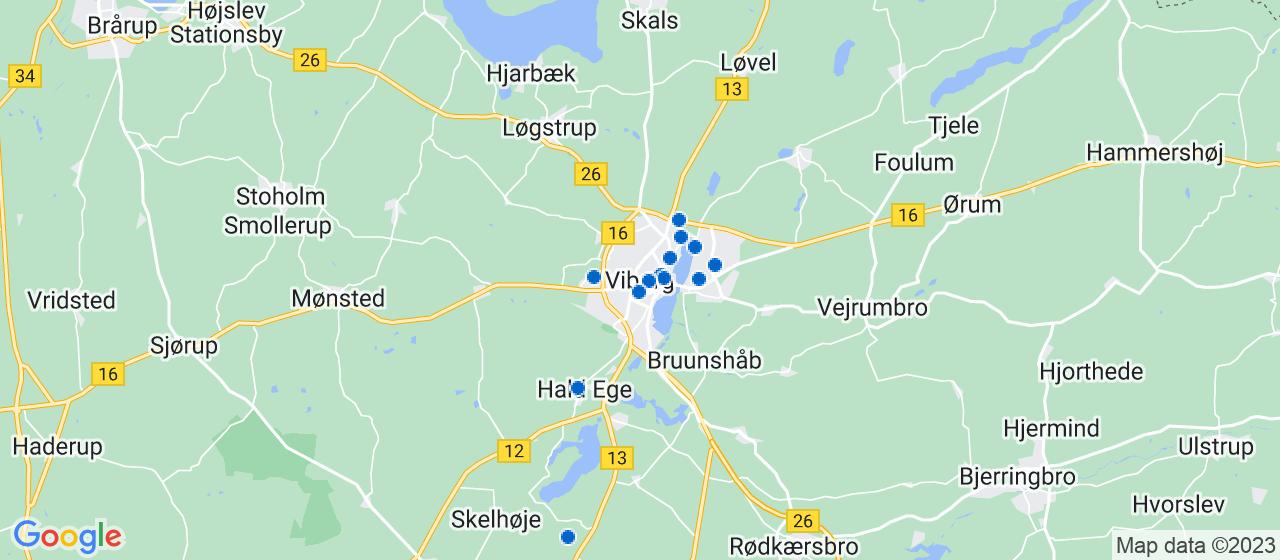 arkitektfirmaer i Viborg