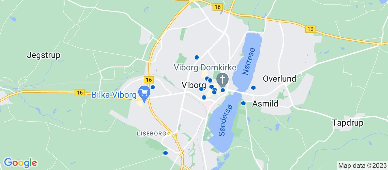 ejendomsmæglerfirmaer i Viborg
