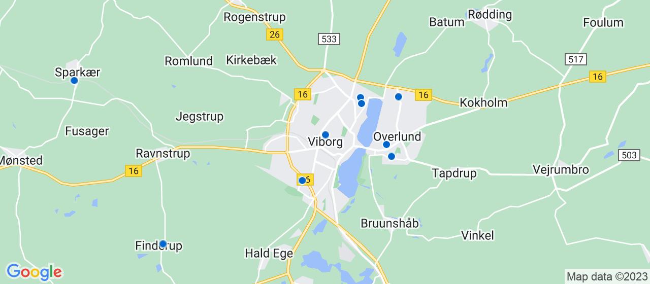 malerfirmaer i Viborg