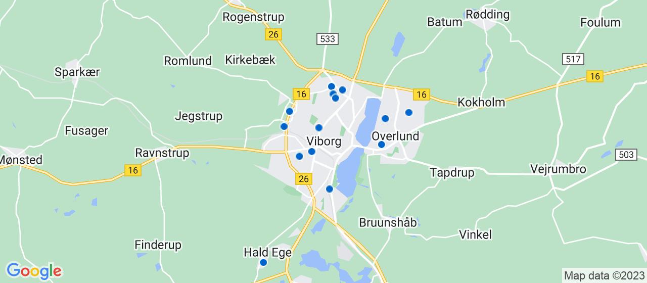 vvsfirmaer i Viborg