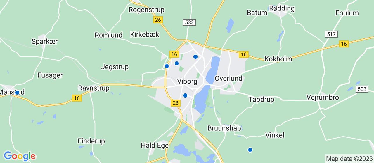 elektrikerfirmaer i Viborg