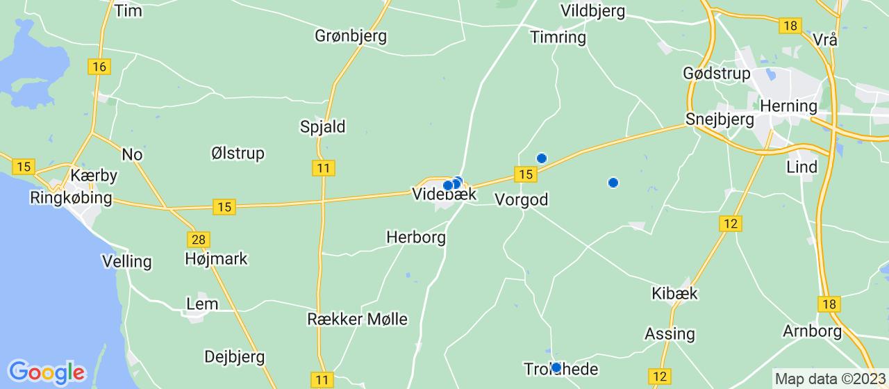 varmepumpe firmaer i Videbæk