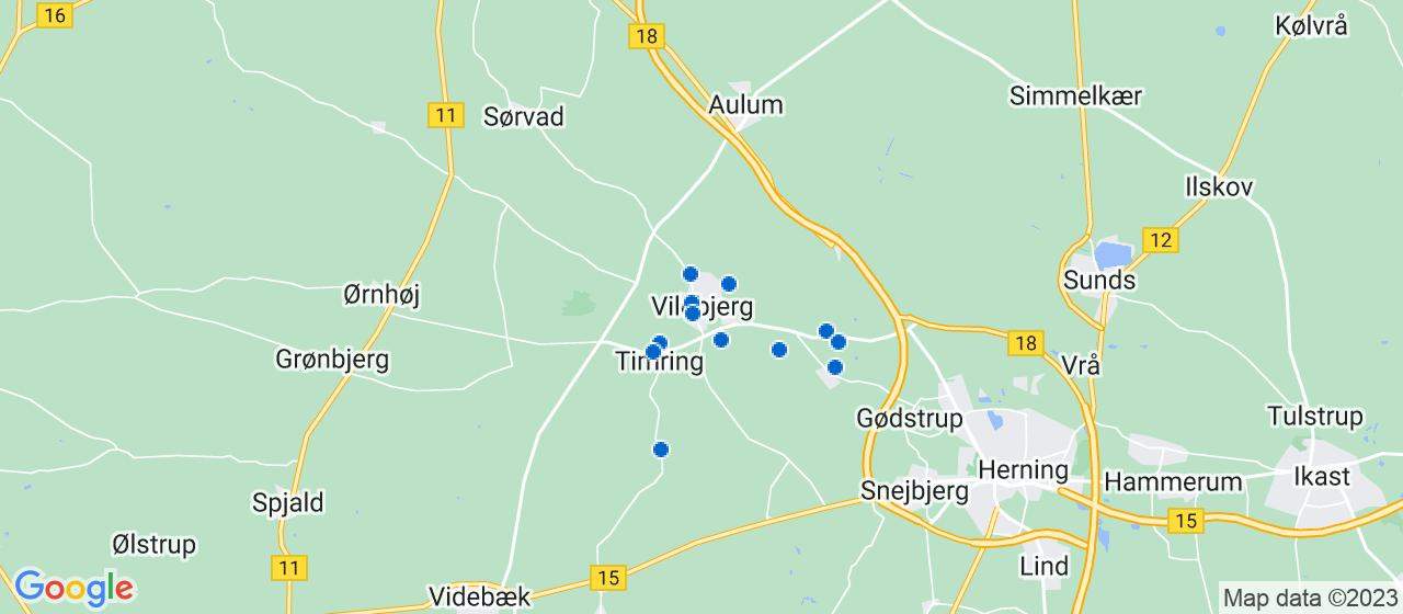 tømrerfirmaer i Vildbjerg
