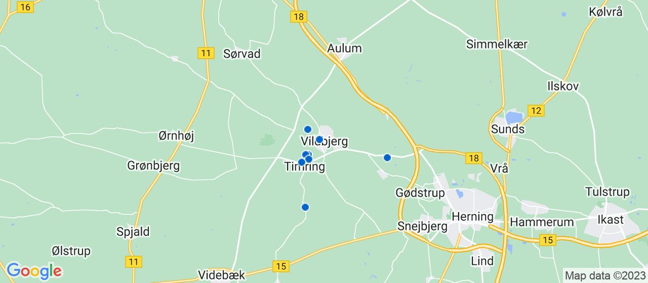 byggefirmaer i Vildbjerg