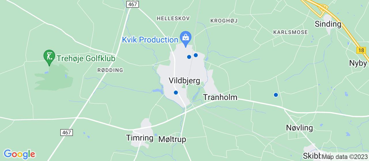 elektrikerfirmaer i Vildbjerg