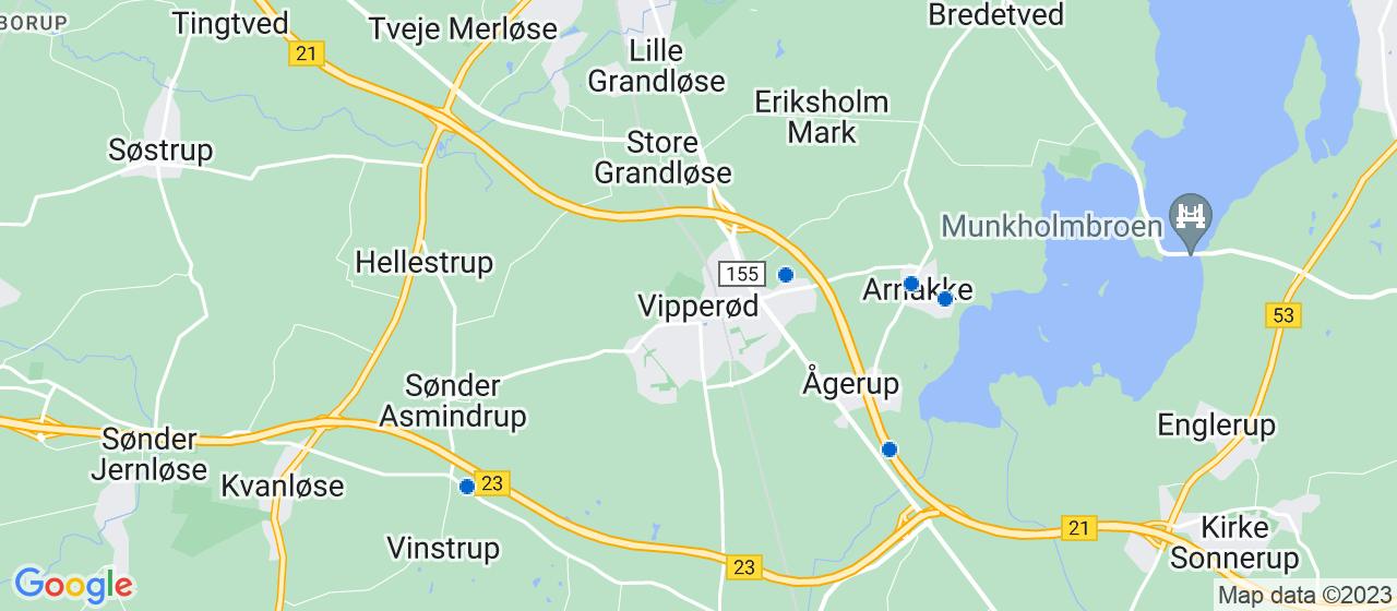 byggefirmaer i Vipperød