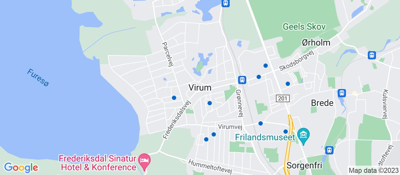 anlægsgartnerfirmaer i Virum