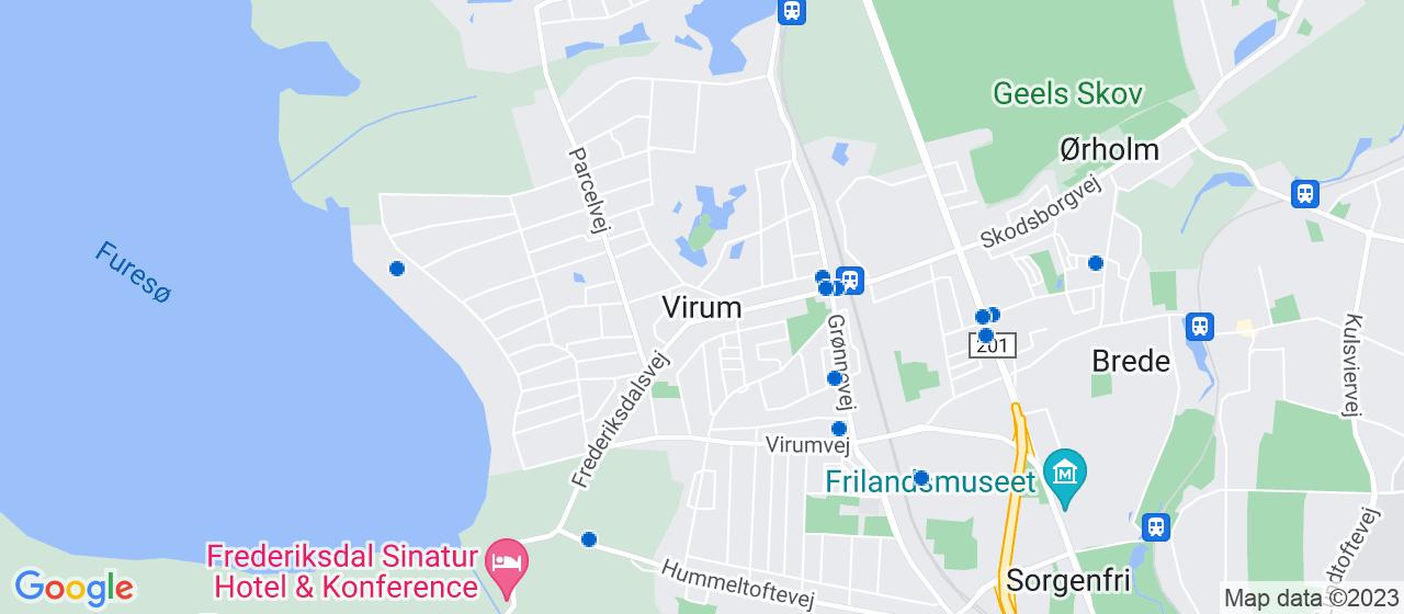 ejendomsmæglerfirmaer i Virum