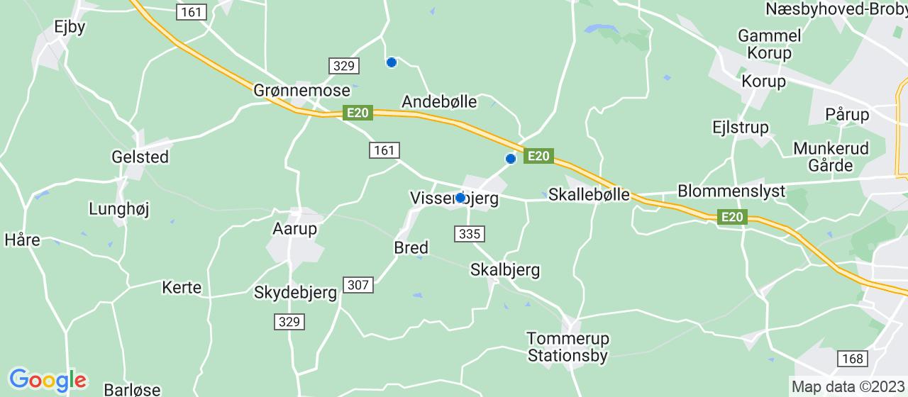 ejendomsmæglerfirmaer i Vissenbjerg