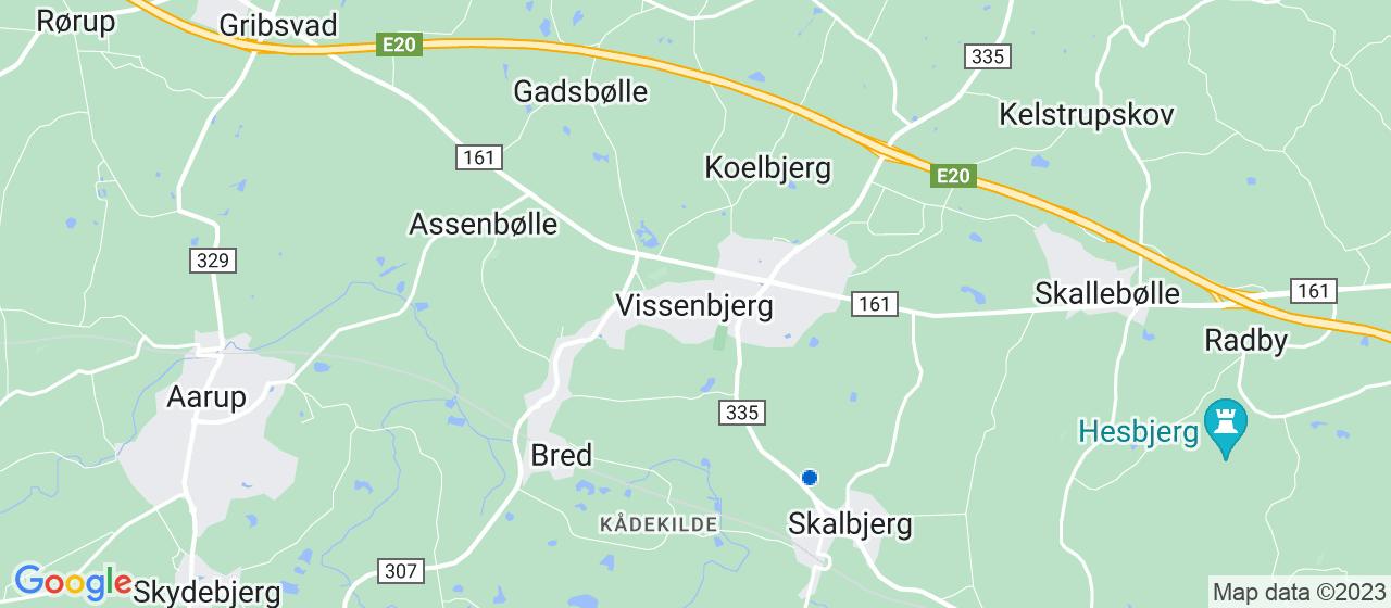 gulvafslibning firmaer i Vissenbjerg