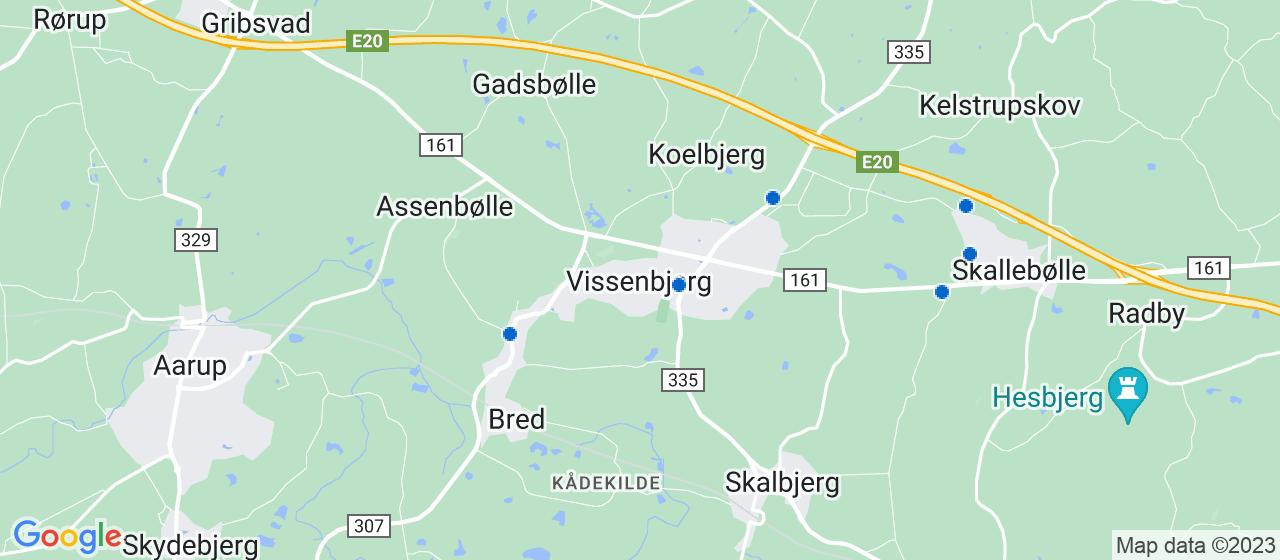 elektrikerfirmaer i Vissenbjerg