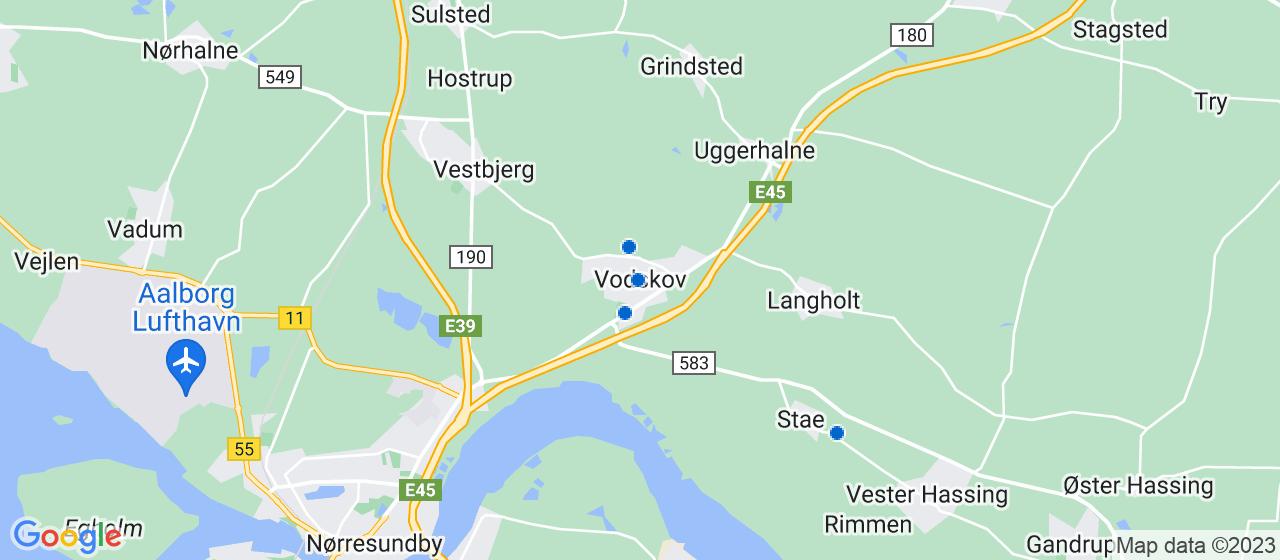 sandblæsning firmaer i Vodskov