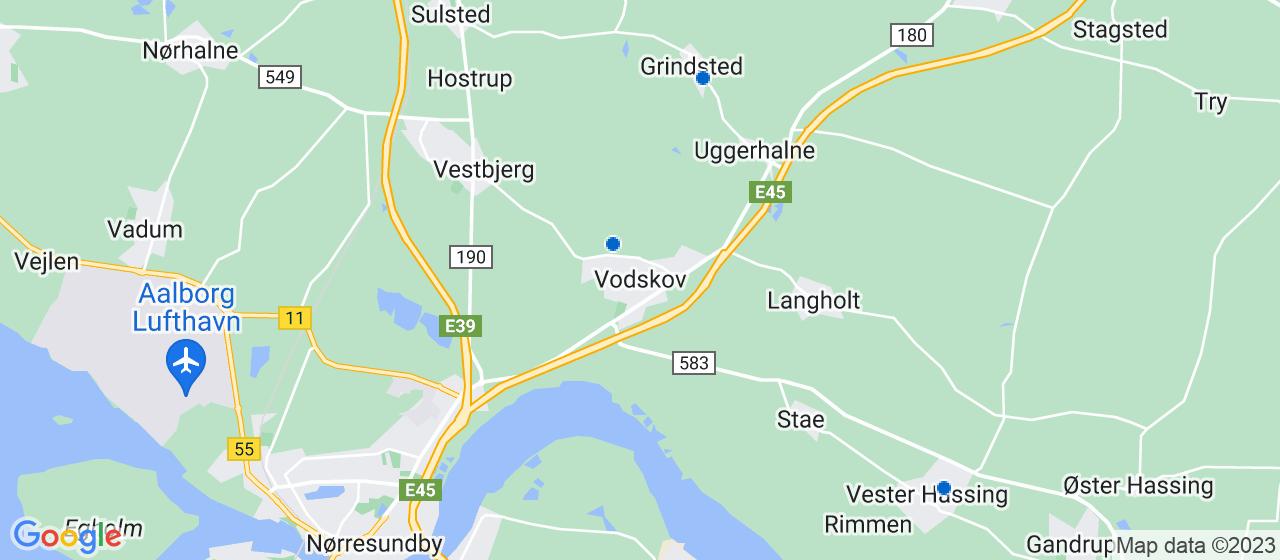 anlægsgartnerfirmaer i Vodskov