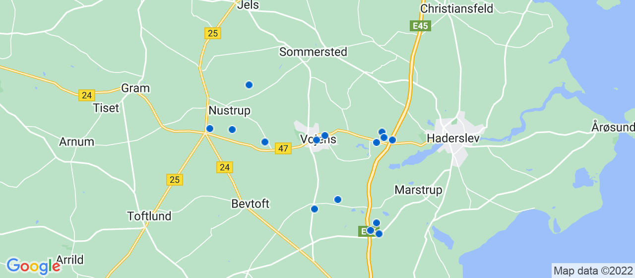 byggefirmaer i Vojens