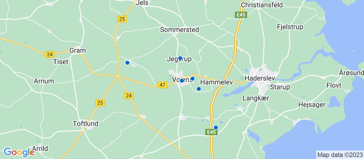 kloakfirmaer i Vojens
