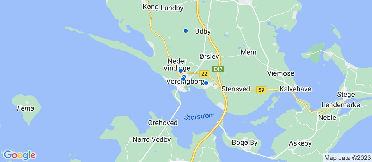 ejendomsservicefirmaer i Vordingborg
