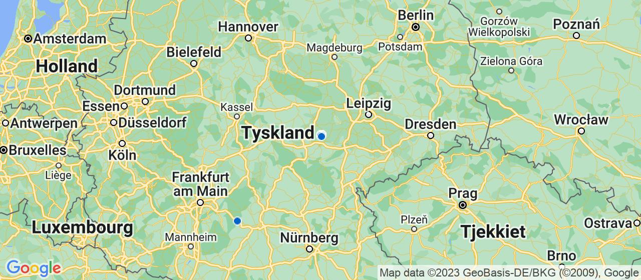 Umzugsunternehmen i Weimar