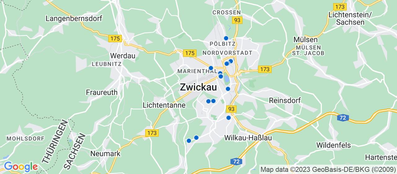 Umzugsunternehmen i Zwickau