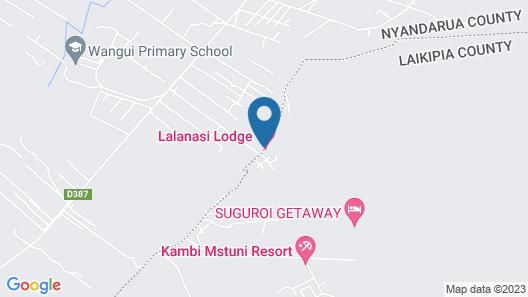 Lalanasi Lodge Map