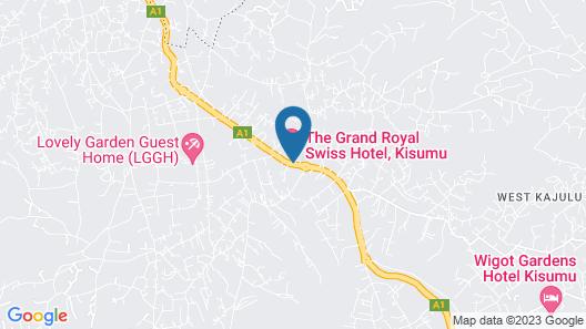 Grand Royal Swiss Hotel Map