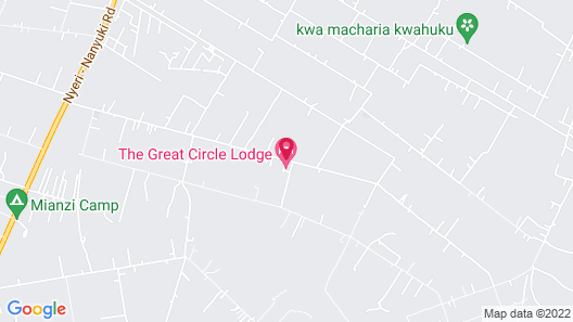 The Great Circle Lodge - Hostel Map