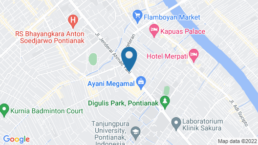 ibis Pontianak City Center Map