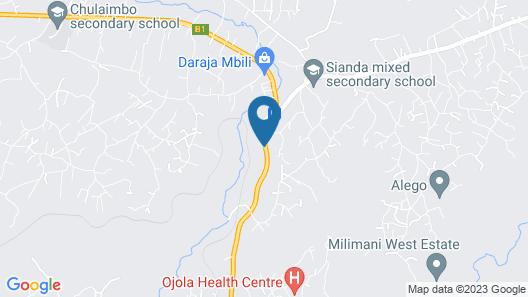 Rock Motel Kisumu Map