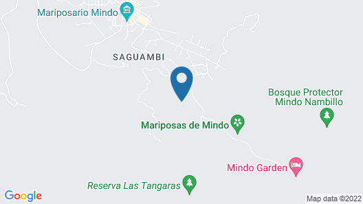 Casa Divina Lodge Map