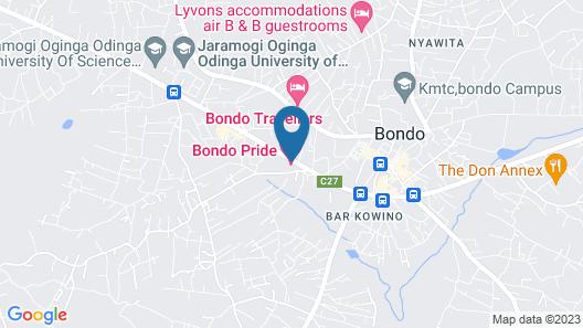 Bondo Pride Hotel Map