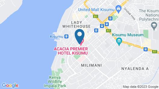 Acacia Premier Hotel Map