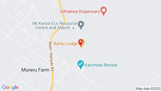 Bantu Mountain Lodge Map