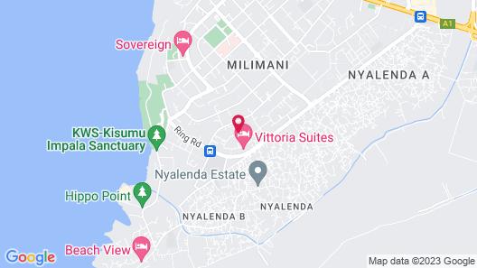 Tiana Court Milimani Kisumu Map