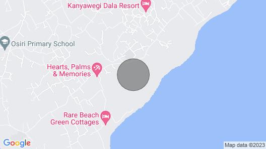 Villa (2) Del Sol- Paga Beach, Lake Front Villa Map