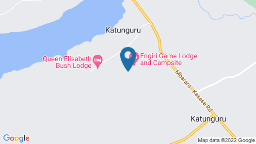 Engiri Game Lodge and Campsite Map