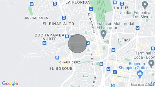Luxury Romano House-apartment in Quito Map