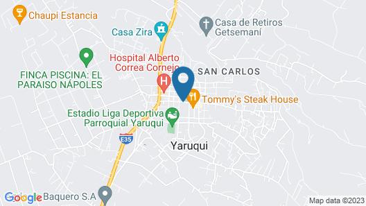 Hotel Yaruqui Map