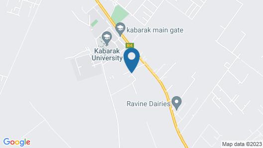 Kabarak University Guest House Map