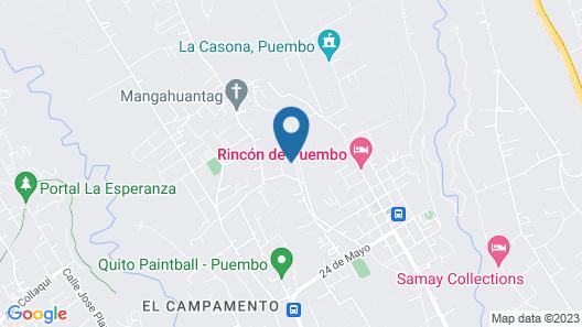 Country-luxury Villa / Quinta Alto Viento Map