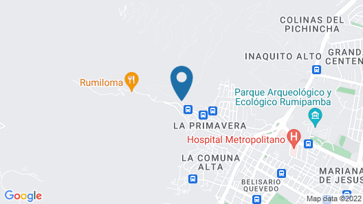 Hacienda Rumiloma Map