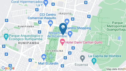 Hotel Finlandia Map