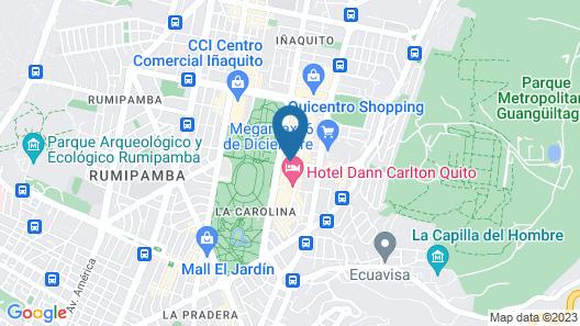 JZ Luxury Apartment La Carolina Map