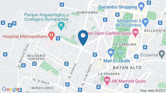 Koralie Hosting Map