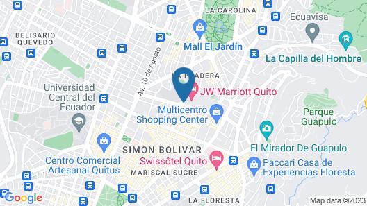 Torres de Suites by InAmazonas Map