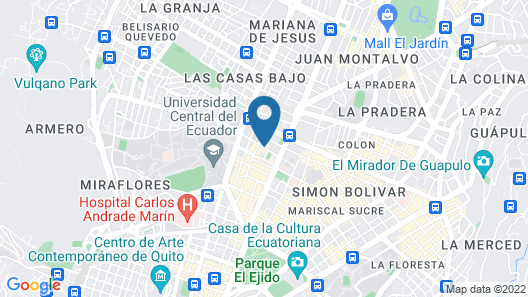 Casa Agua Canela - Adults Only Map
