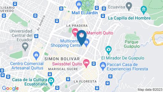 Vieja Cuba Hotel Map